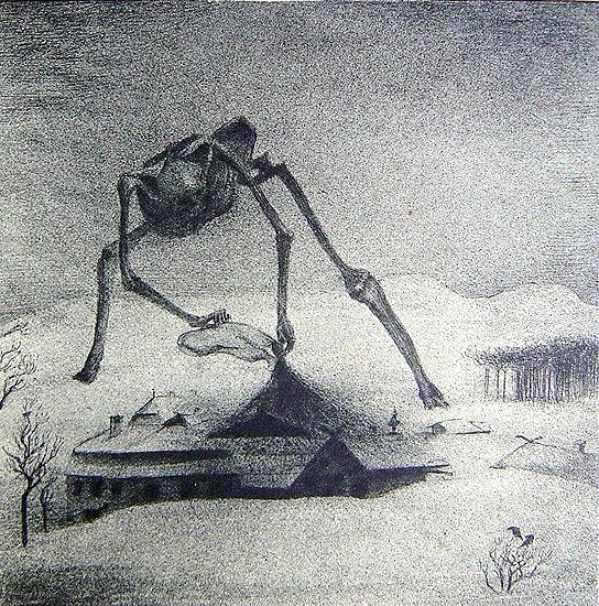 Epidemie de Alfred Kubin