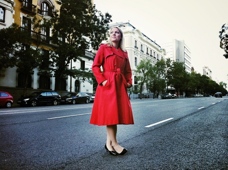 Carina Bergfeld. Foto: Elena Blanco.