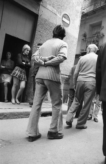 """""""Los mirones"""" (1972) Foto: Joaquín Collado."""