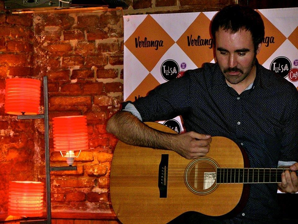 Pablo Maronda en pleno Aperitiver. Foto: Eva M. Rosúa.