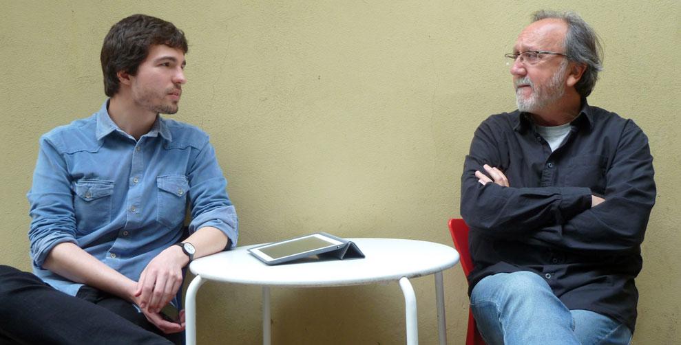 Vicent Molins (Chechechenet) y Toni García (Rokambol). Foto: Miguel Ángel Puerta