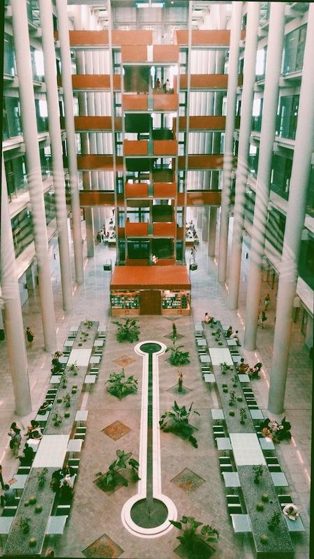 Interior Ciudad de la Justicia.