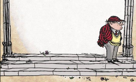 """""""¡Abajo el colejio!"""" de Geoffrey Willans y Ronald Searle"""