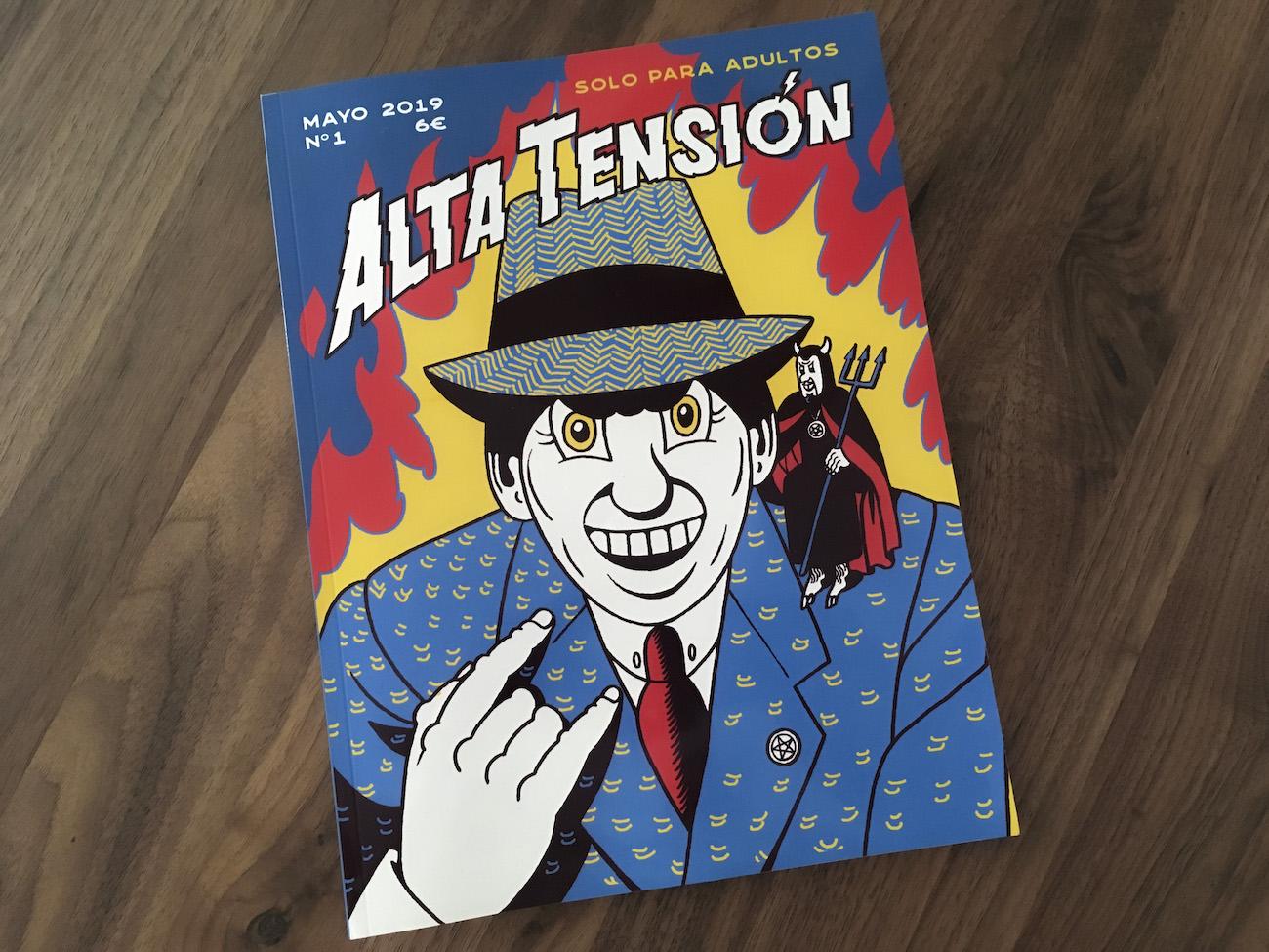 Alta Tensión, la casa común del cómic underground