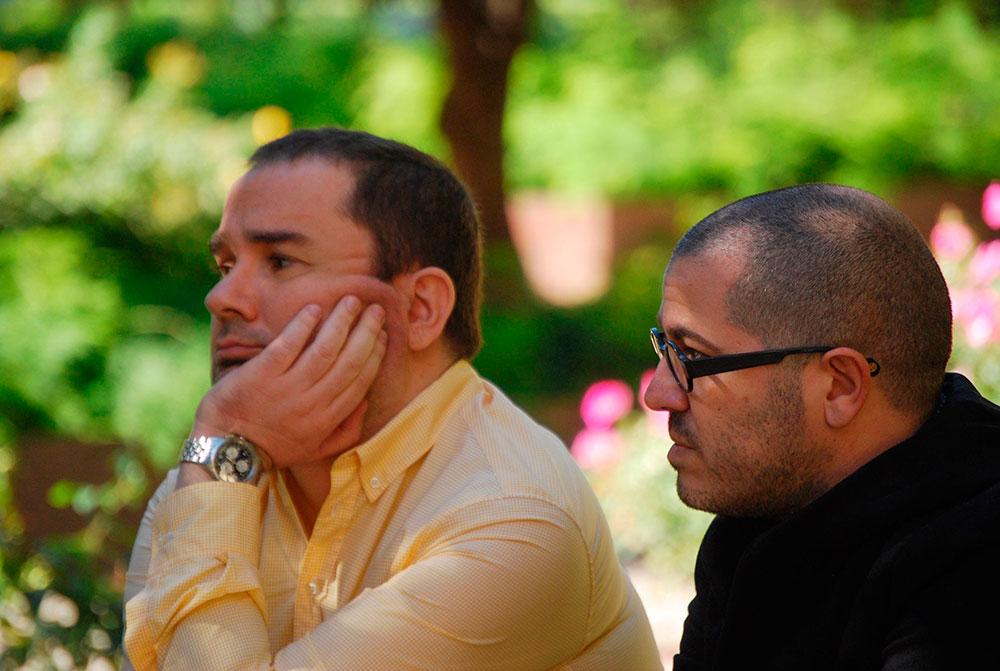 Sebastián Alós y Dídac Ballester. Foto: Diego Obiol