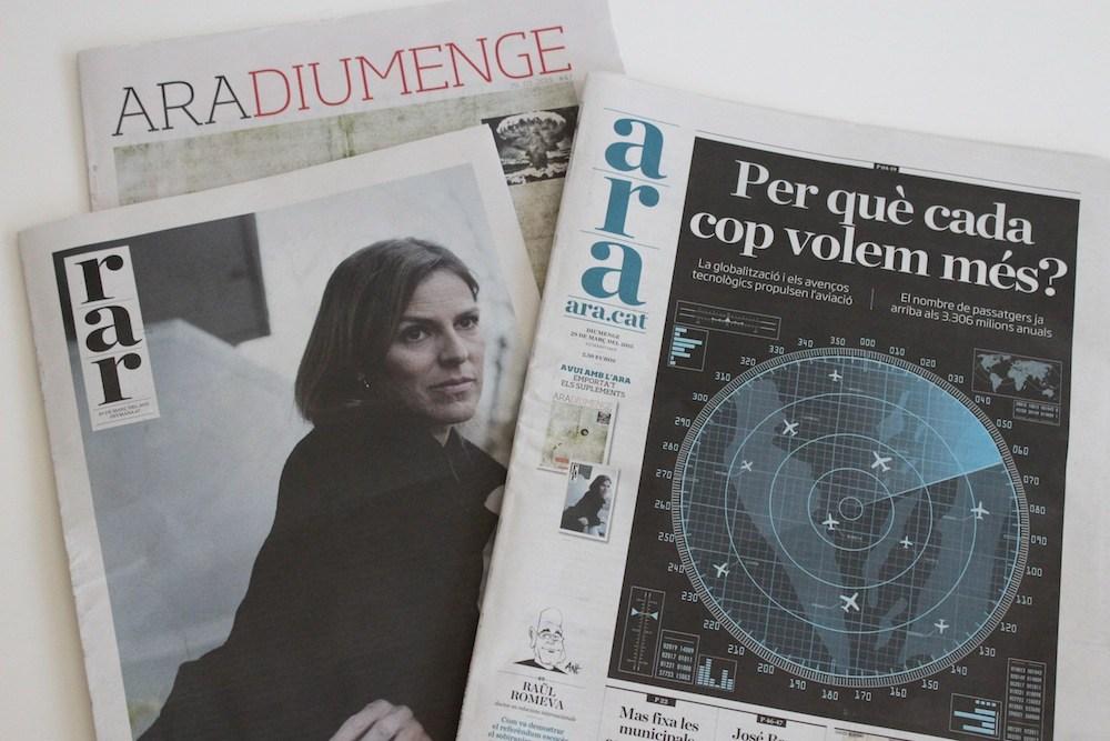 El placer de leer, el periódico, los domingos
