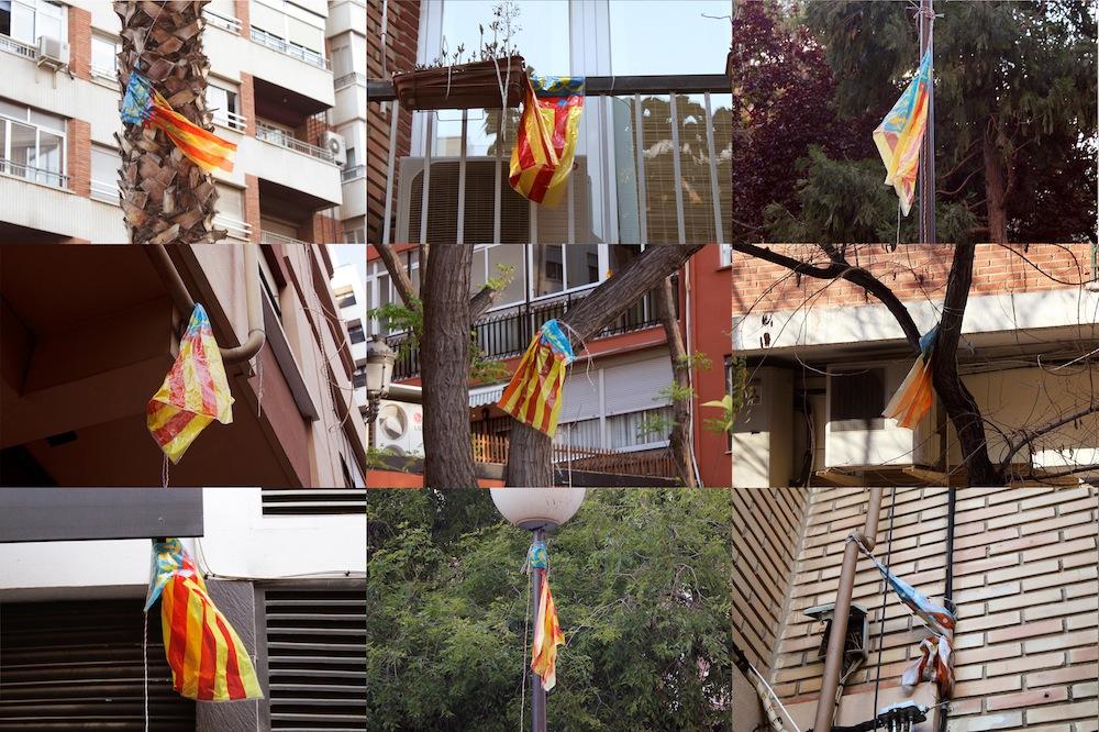 Banderas olvidadas.