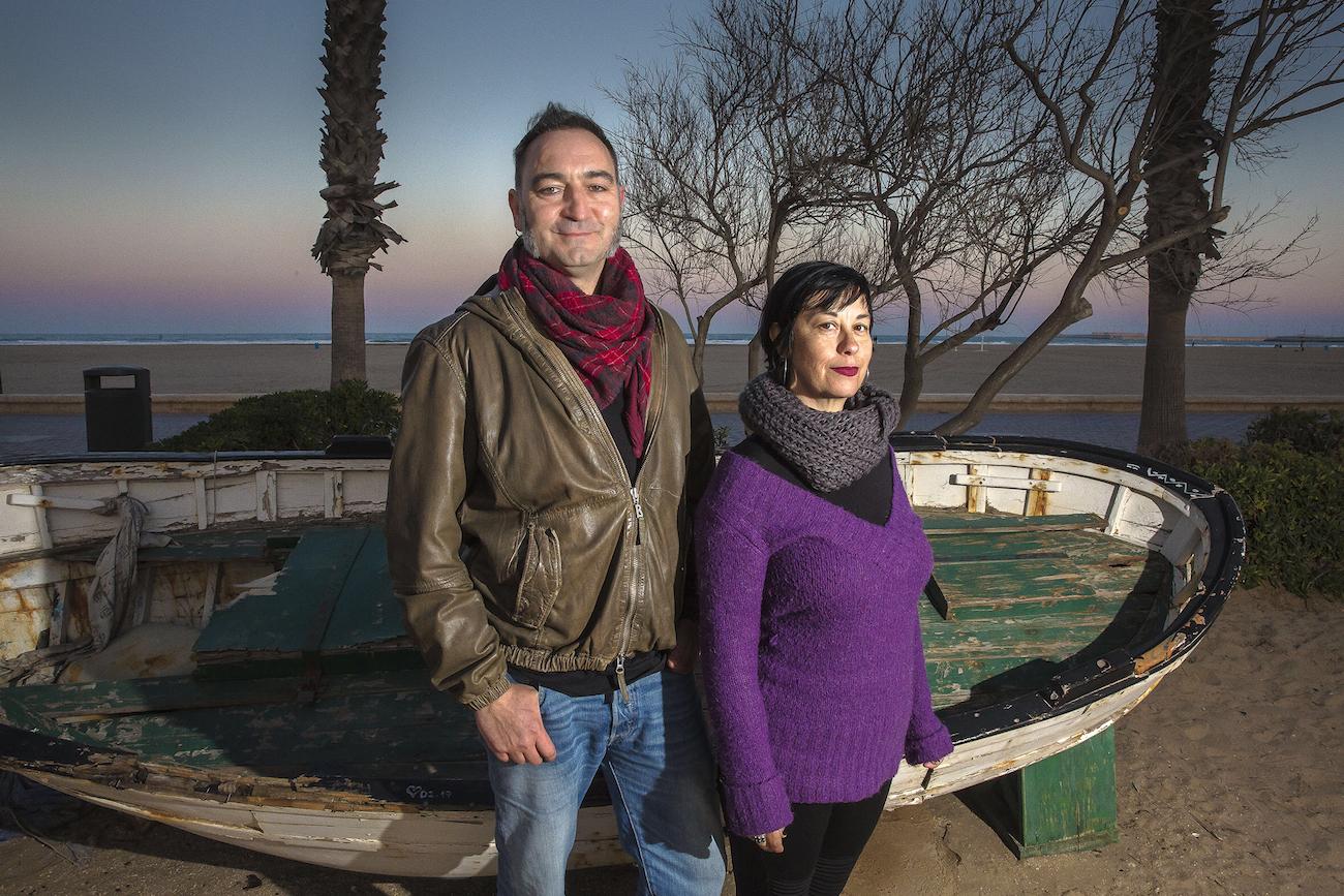 Un vermut con Jacobo Julio Roger e Isabel Caballero
