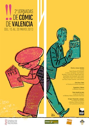 Cartel Jornadas Comic