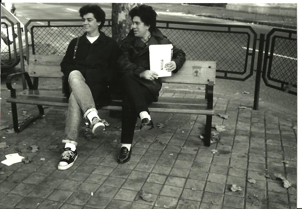 Rafa Cervera y Pedro Almodóvar