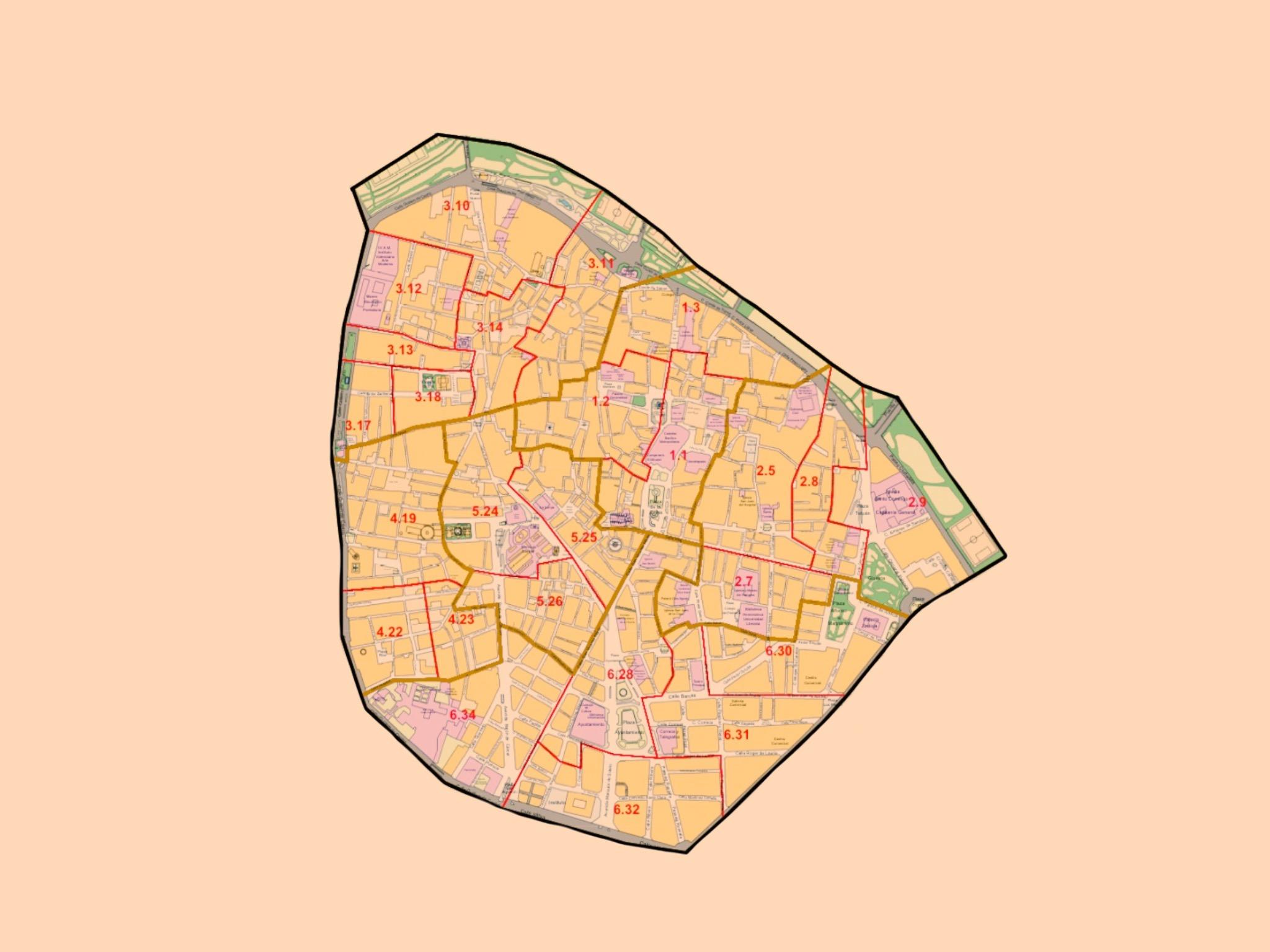 Mapa de Ciutat Vella Oberta