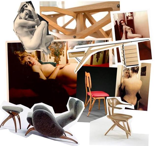 Collage Carlo Mollino Siemprevivas Valencia Fashion Week