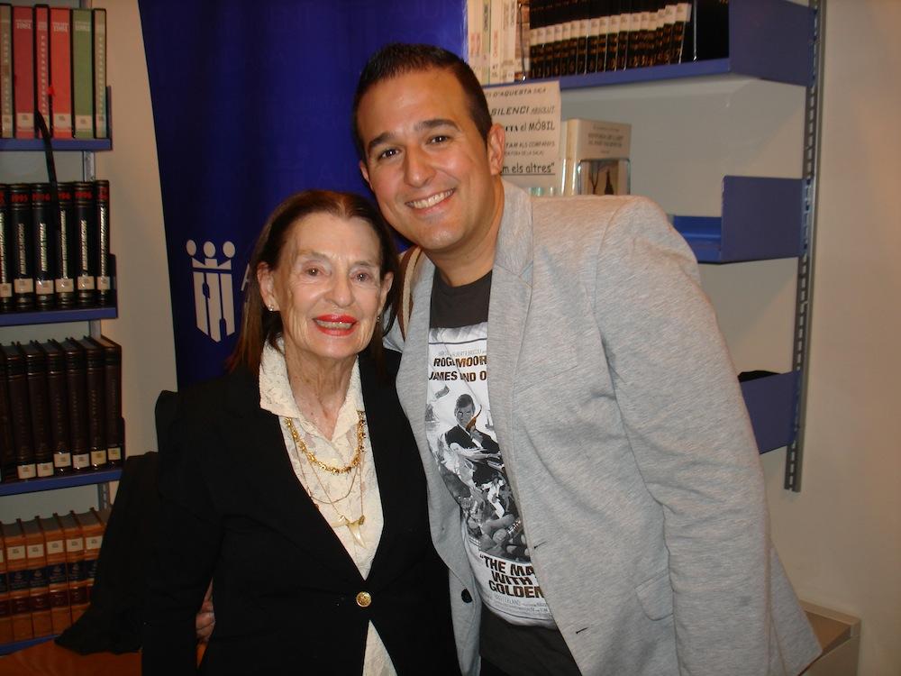 Trini Reyes y Jovi Lozano-Seser.