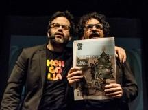 Edu Galán y Darío Adanti, de la revista Mongolia. Foto: Nadia Tosi).