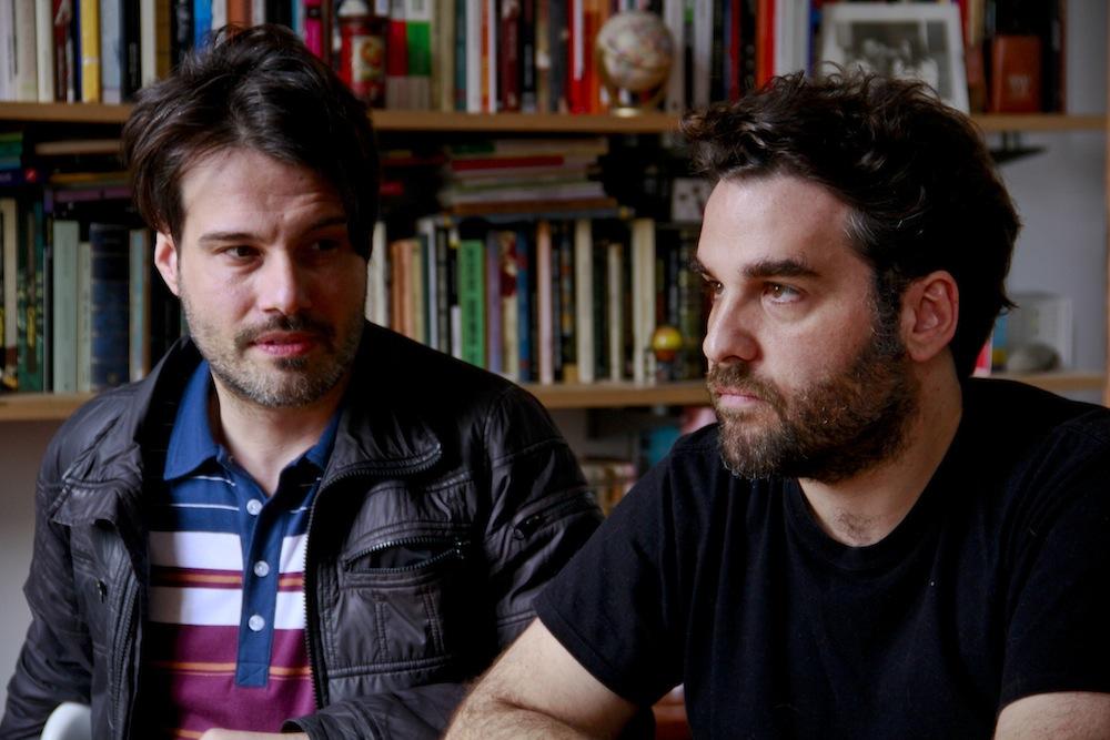 Diego Ontivero y Roque Larraquy. Foto: Paula Solimano.
