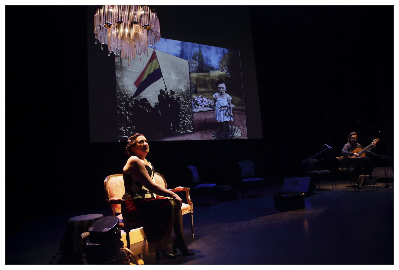 La vida y la obra de Paca Aguirre en el escenario