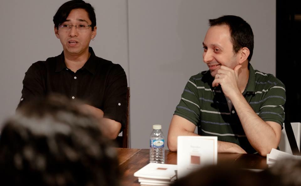 Edgar Chías y Gabi Ochoa durante la presente edición de Creador.es.
