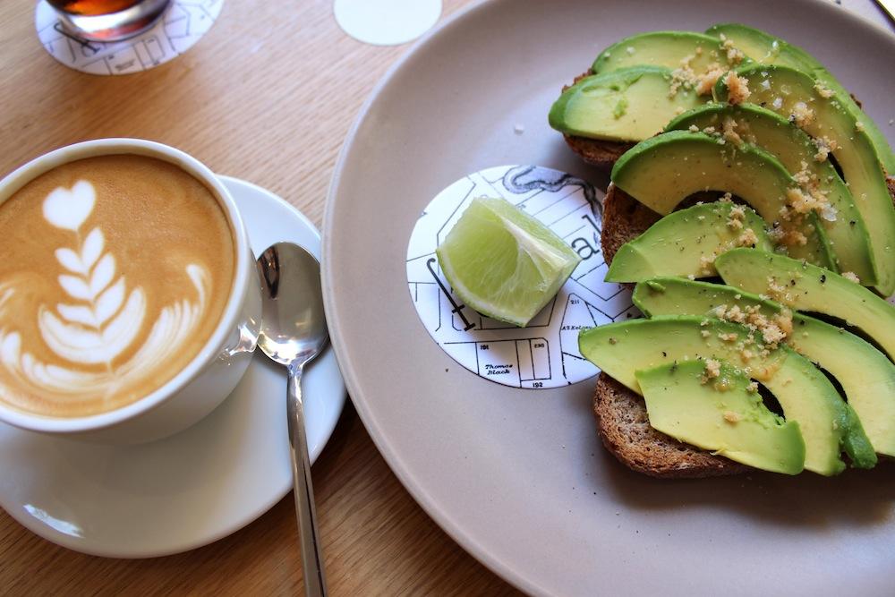 Federal cafe desayuno