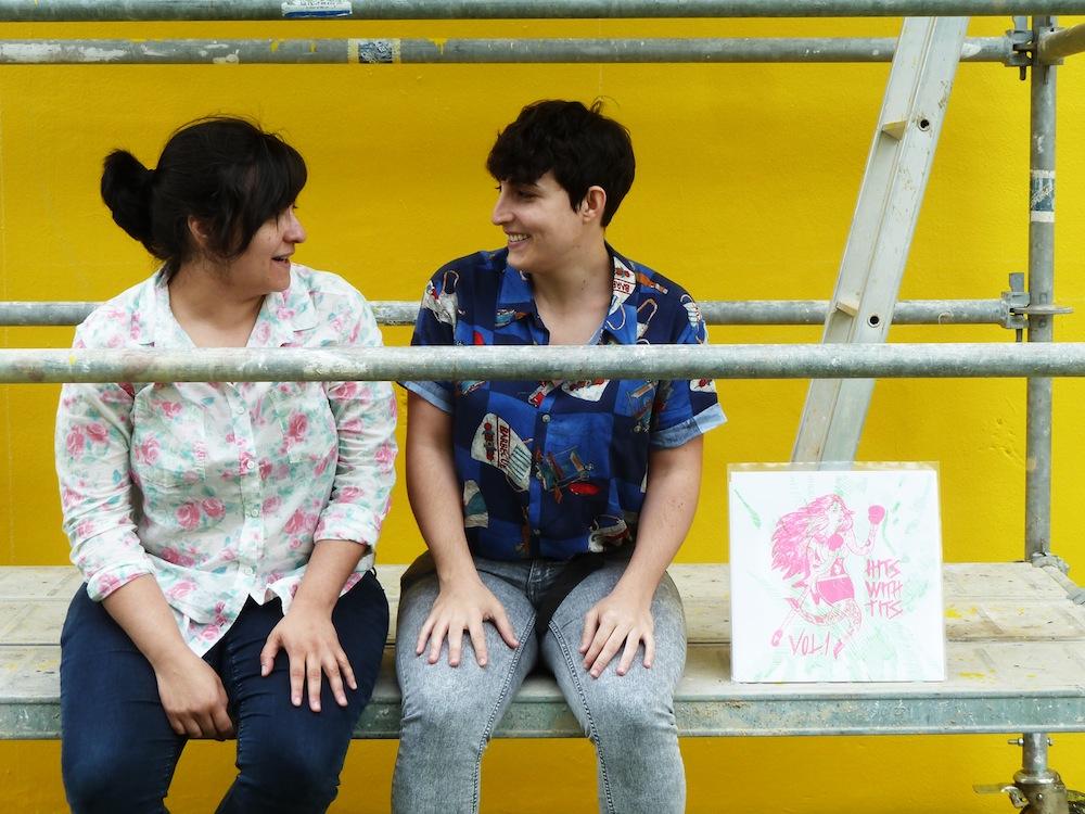 Lu Sanz y Ada Diez. Foto: Miguel Ángel Puerta.