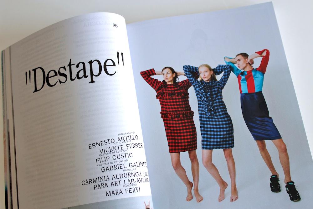 Ernesto Artillo Vein magazine moda Verlanga revista cultural Valencia