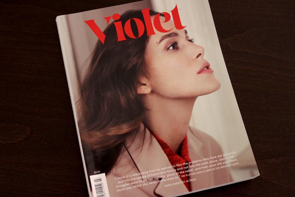 Violet Magazine Verlanga revista cultural