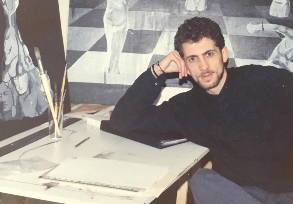 Ibán Ramón, 1989.