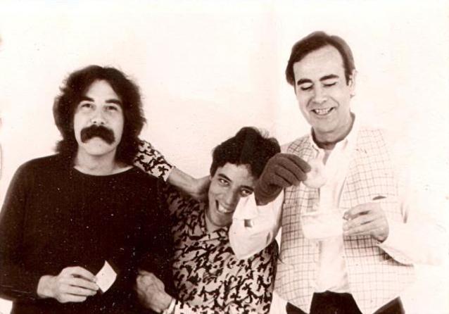 Foto: Tico Balanzá, Remigi Palmero y Julio Bustamante.