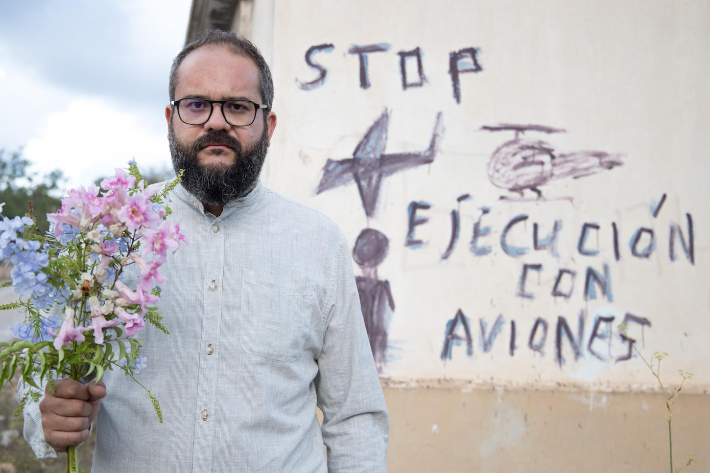 Los desasosegantes mensajes que aparecen en los caminos rurales de l'Horta Nord