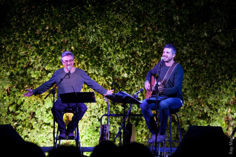Joan Amèric y Andreu Valor. Foto: Ray Martínez.