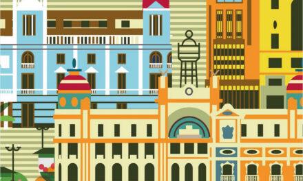 El libro que se pasea por el centro de València