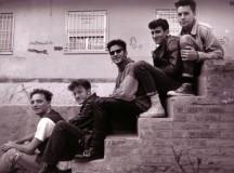 Foto: Pepa García, 1991. Jose Salas (guitarra), Epo (midi), Joan F. Toledo (bajo y voz), Rafa Martínez (batería) y J.C. Plaza (guitarra y voz).