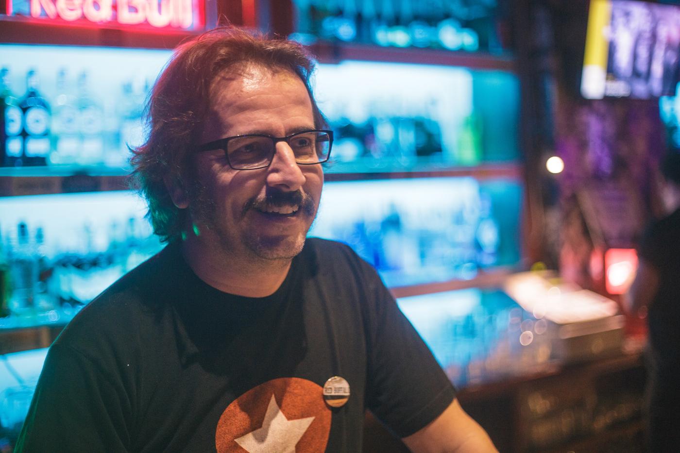 Un vermut con Lorenzo Melero