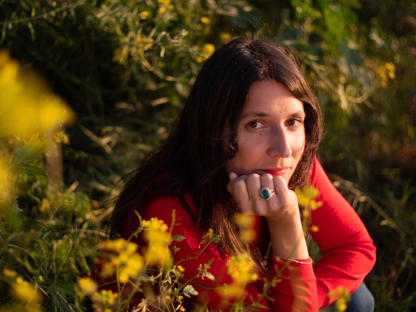 Lorena Álvarez, una persona sencilla