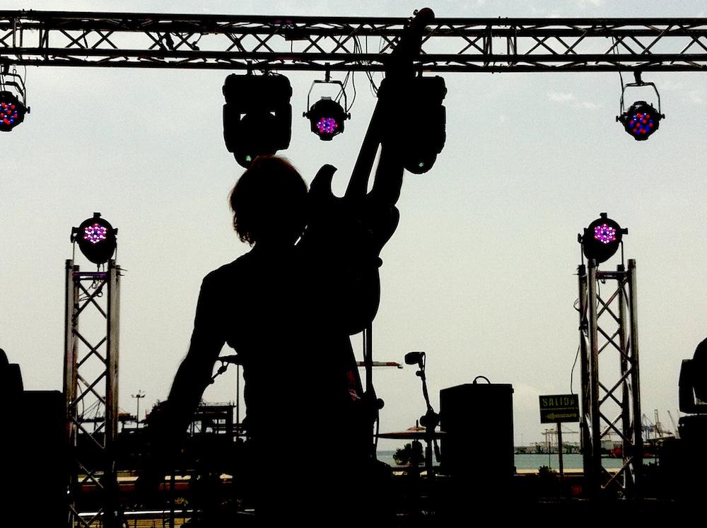 Marc Jonson a punto de ver la luz. Foto: Eva M. Rosúa.