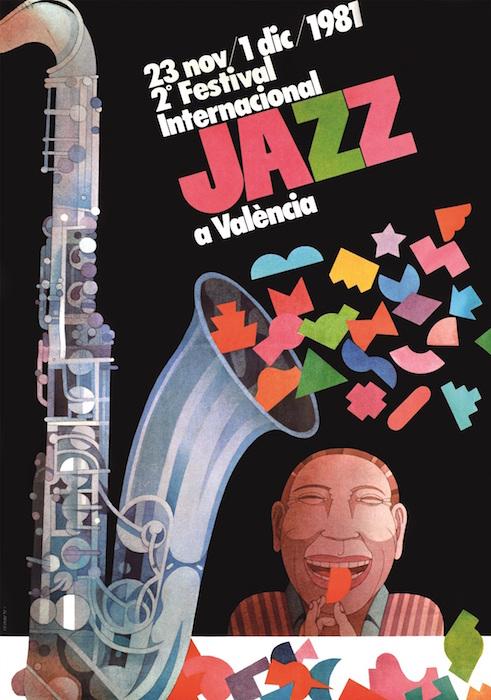 II Festival Internacional de Jazz de Valencia. Teatro Principal, 1981. Miguel Calatayud.