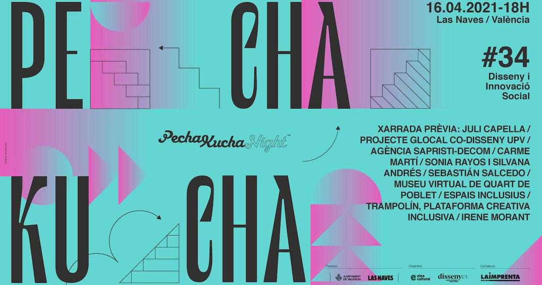 ¡Llega PechaKucha 34!