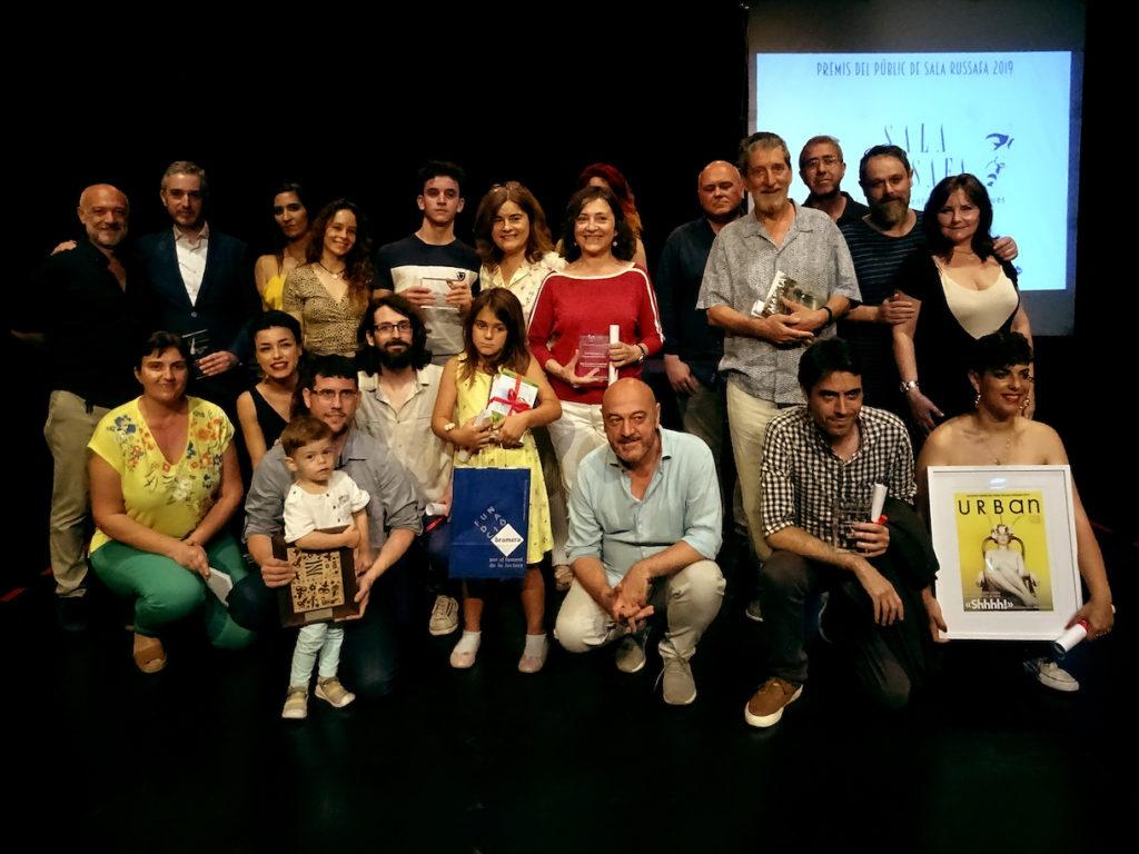 Estos son los ganadores de los Premios del Público de la Sala Russafa
