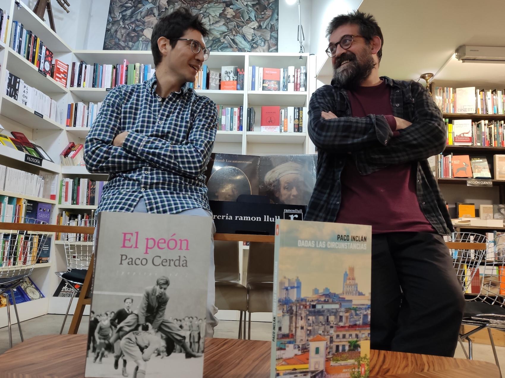 Paco Cerdà y Paco Inclán, cuando los márgenes son el centro
