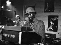 Lou Bennett Trio. Perdido Club de Jazz, 1982. Foto: Pepe y Rafa Aparisi.