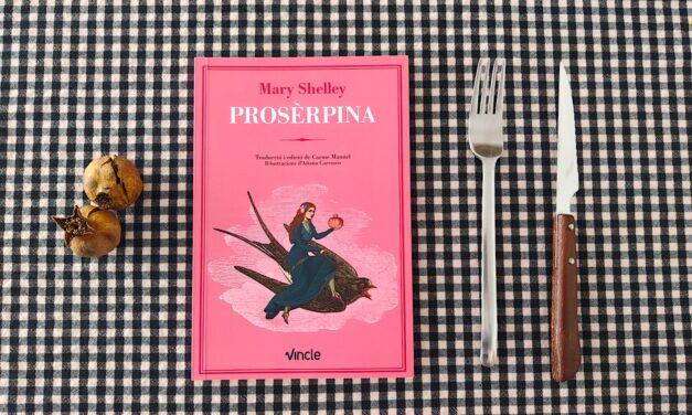 """La portada de """"Prosèrpina"""" contada por Aitana Carrasco"""