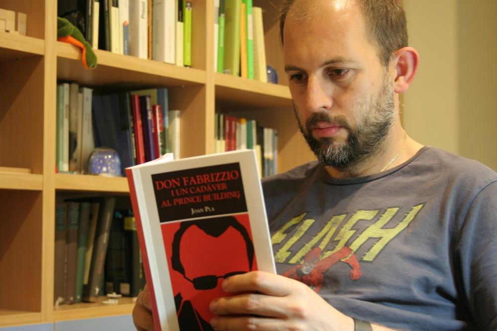 """Raúl Gálvez, guionista de """"Un país de Llibre"""""""