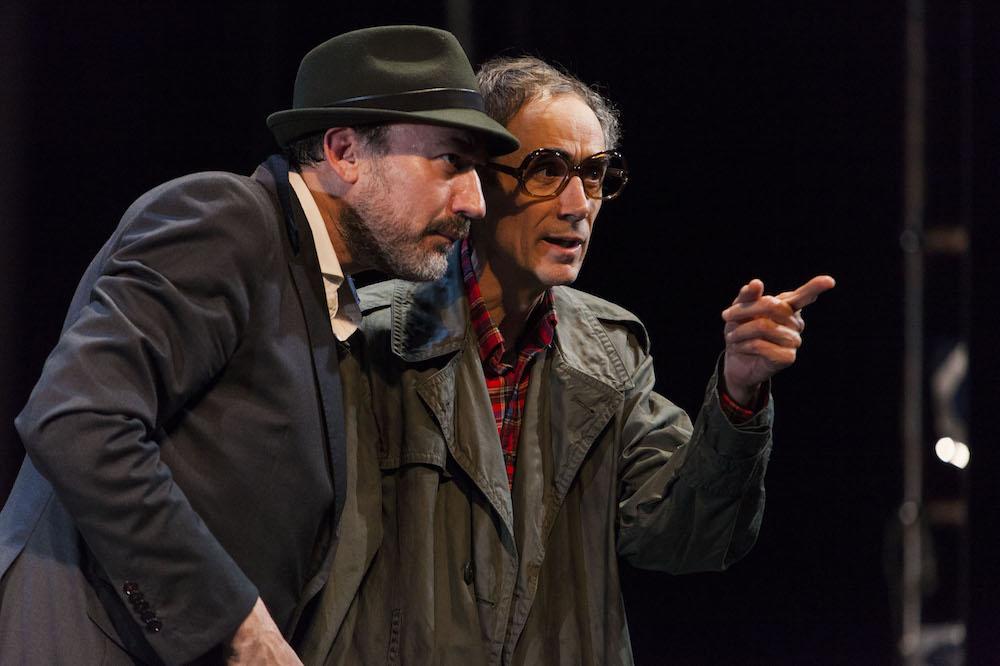 Daniel Albaladejo y César Sarachu. Foto: Sergio Parra.