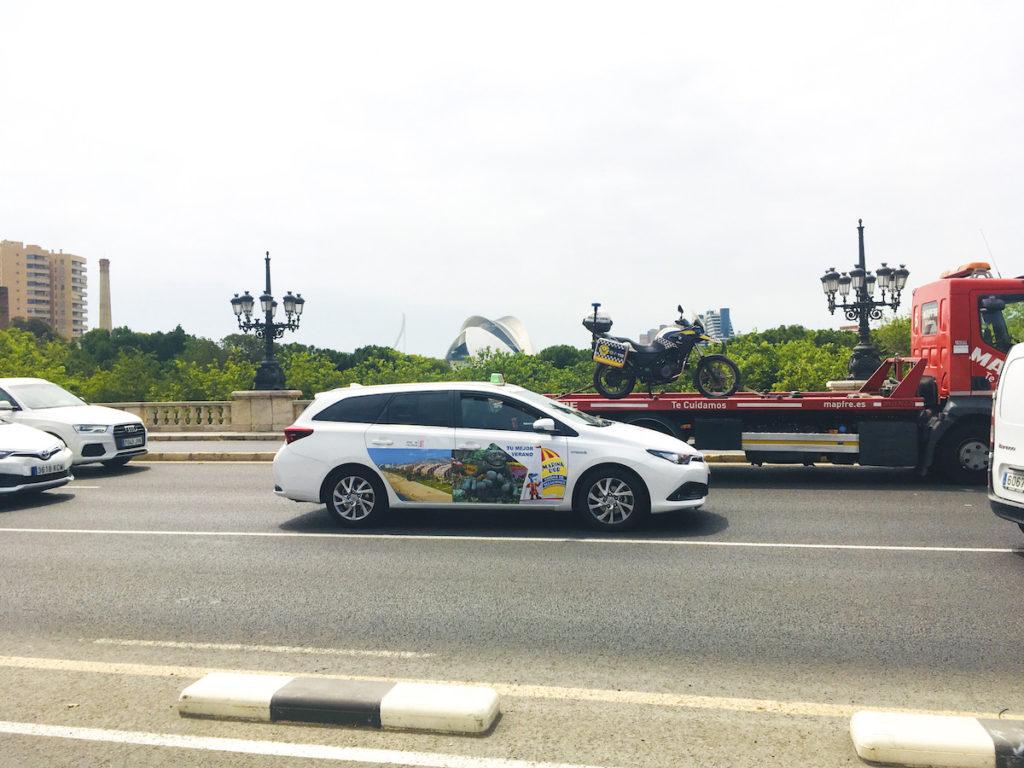 Taxi de ida y vuelta