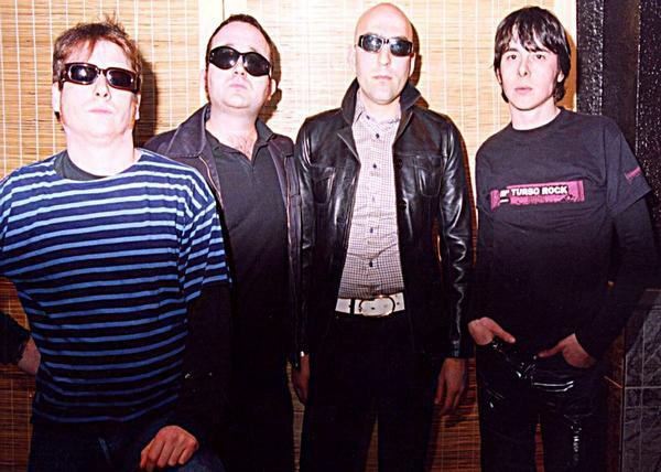 De izquierda a derecha: Edu Cerdá, Fletán, Heri Bueno y David Garrido.