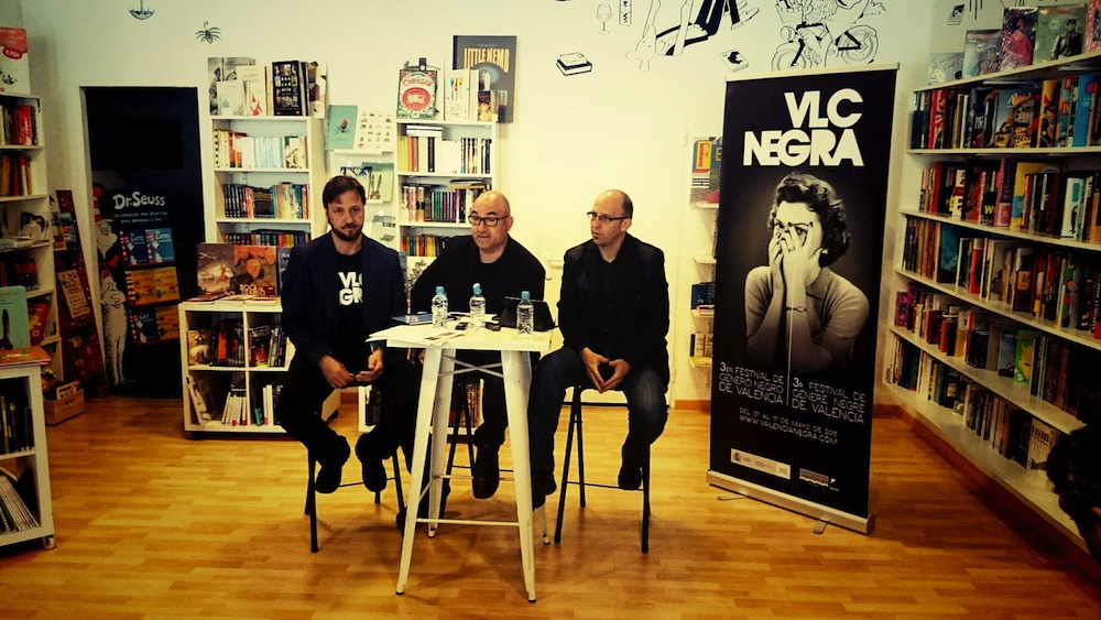 Bernardo Carrión, Jordi Llobregat, Santiago Álvarez.