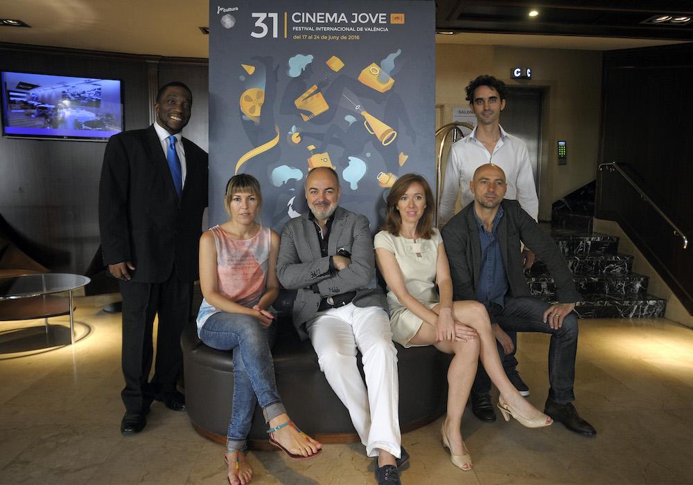 Michael Ajawke, Ana Ramón, Rafael Maluenda, María Albiñana, Antoine Disle y Gonzalo Gurrea. Foto: Daniel García-Sala.