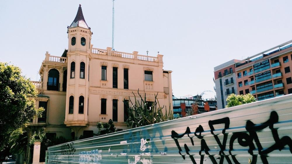 Casa de la Avenida del Puerto.