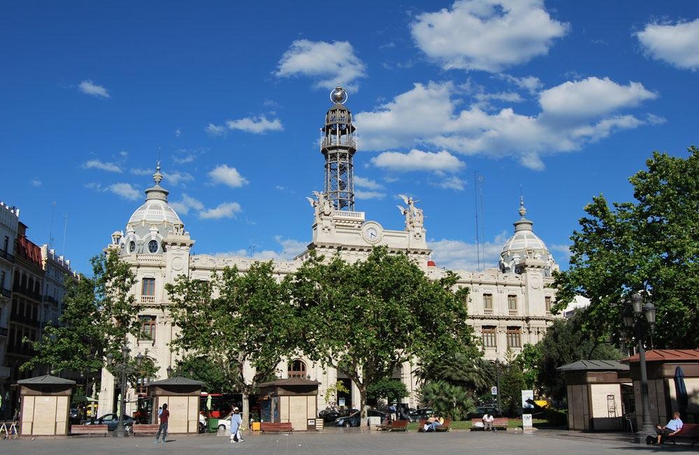 Edificio de Correos de Valencia Fotos: Diego Obiol.
