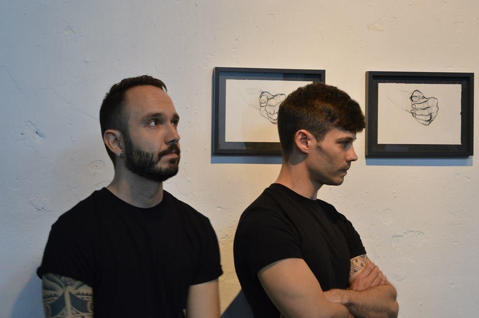 Gonzalo Izquierdo y Alberto Rodríguez. Foto: Sergio Fernández.