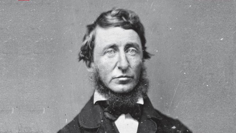Thoreau, un escritor con principios